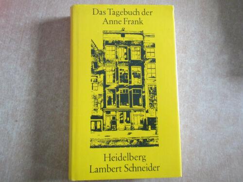 Meine Zeit mit Anne Frank (gebunden) Verlag Lambert Schneider