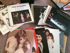 VINYL RECORDS ECLECTIC MIX. OPEN TO OFFERS.