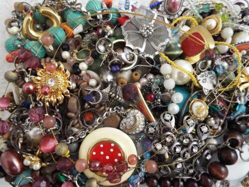 ~ 3 lb ~ Junk Jewelry ~ Lot L91