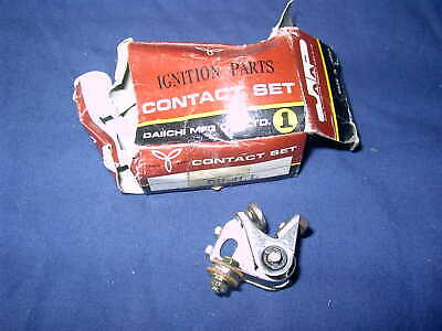 <em>YAMAHA</em> XS500 XS750 1977 82 RD250 RD400 1975 82 NOS CONTACT POINTS DH41