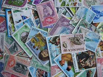 Internationals WW collection breakdown, Dominica 70 different