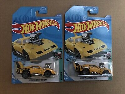 2020 Hot Wheels Treasure Hunt DODGE CHARGER DAYTONA Lot of TWO 2 Cars