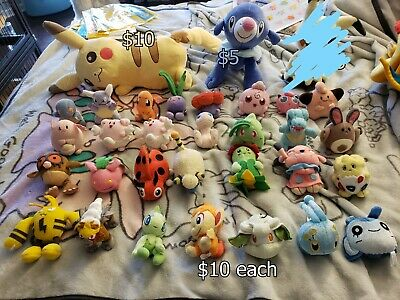 Pokemon Center Plushes, Pokemon Friends Plushes