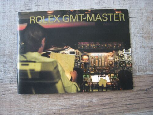 RARE:ROLEX GMT-MASTER II , 16710 16713 16718 MANUAL / Booklet dated 2003