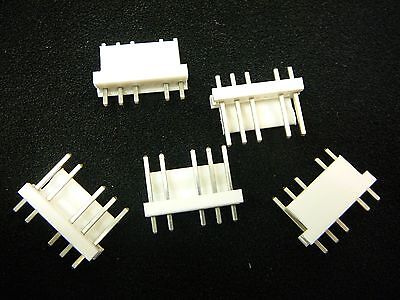 Tyco 644948-1 Connector Header 6-pos Vertical .156 Tin New  Qty.5