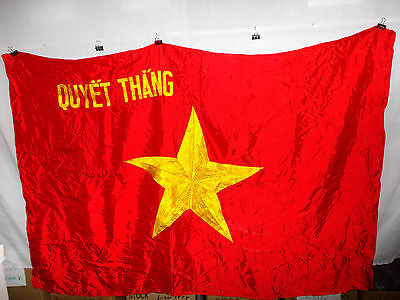 flag521 North Vietnam Army NVA  flag Quyet Thang To Win