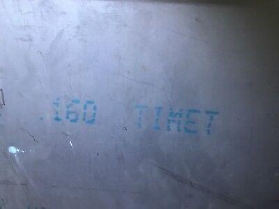 .160x12x12 6al-4v Titanium Sheet