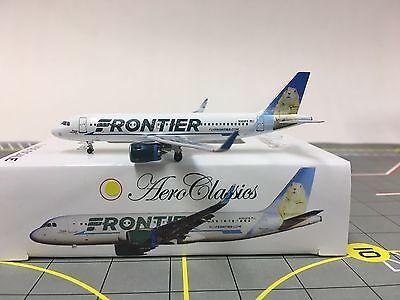 "Aeroclassics 1:400 Frontier Airbus A320 Neo ""Prairie Dog"" N303FR"