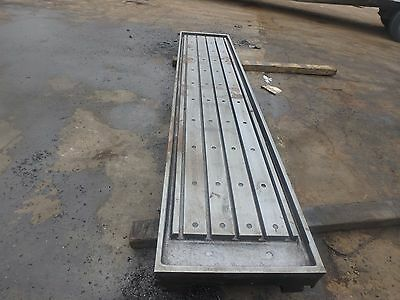 133 X 28x 8 Steel Welding T-slot Table Cast Iron Layout Plate Fixture 5 Slot