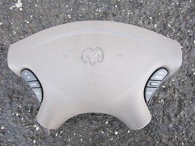 nn80121 Dodge Caravan 2001 2002 2003 2004 Front LH Steering Wheel Air Bag OEM