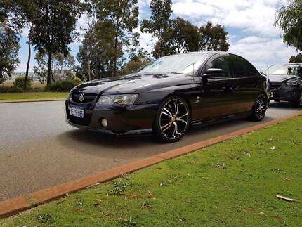 2005 SV8 VZ SUPERCHARGED LS1  commodore. Manual