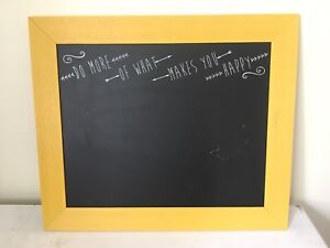 Chalkboard Wall Decor NEED GONE