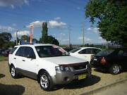 2006 Ford Territory TX 5 Seat RWD SUV/Wagon 4.0 6cyl Country Car Orange Orange Area Preview
