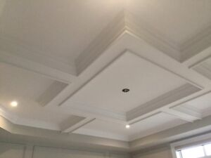 TRIMWORK CROWN MOULDING WAINSCOTING COFFERED CEILING & MORE