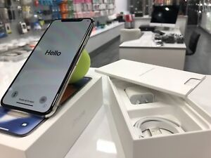 Brand new iphone x 256gb silver unlocked 2yrs warranty tax invoic Surfers Paradise Gold Coast City Preview