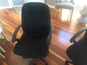 3 office chairs Clear Island Waters Gold Coast City Preview