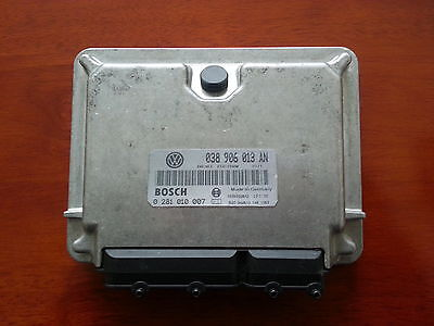 VW CADDYINCA ECU19 SDI AYQ  038906013AN 0281010007 PLUGPLAY 6M WARRANTY