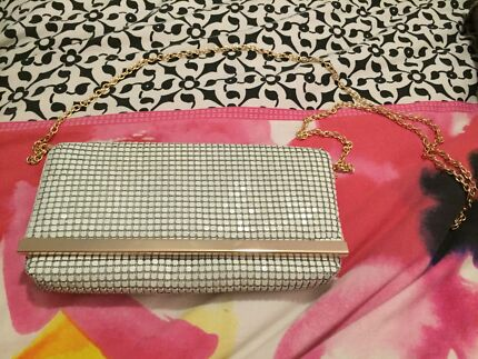 White and gold clutch Blakeview Playford Area Preview