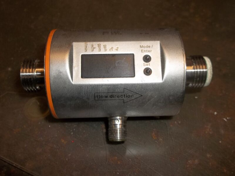IFM ELECTRONIC GMBH SM6004 MAGNETIC FLOW METER IP 67 4..20MA 20..30VDC   (OR44)