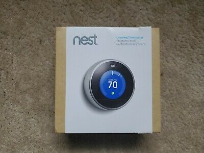 Nest T200577 2nd Generation Learning Thermostat Boxed