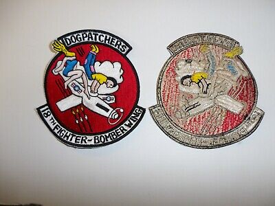 e4069 Korea US Air Force 18th Fighter-Bomber Wing Dog Patchers IR16B