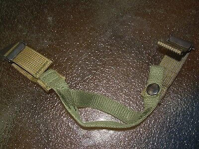 Used, M1 Helmet Chin Strap, original Steel Pot Army Hat, Complete w/ metal clips for sale  Loudon