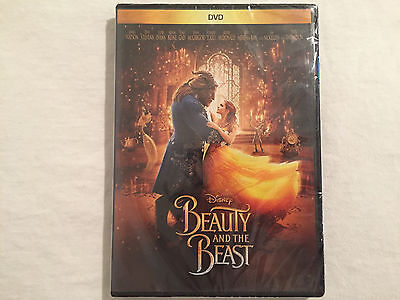Beauty and the Beast (DVD, 2017) BRAND NEW - FREE SHIPPING TO THE US!!!