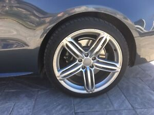 Audi S5 wheels