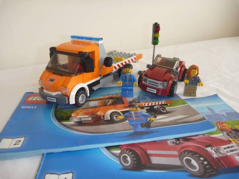Lego City Flatbed Truck Car Set 60017 Complete Instructions Toys