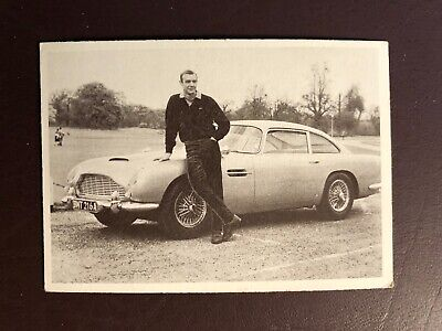 James Bond Secret Agent 007 Trading Card - 1966 Gildrose Productions - Card #2
