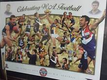 limited edition WA football framed picture Ravenswood Charters Towers Area Preview