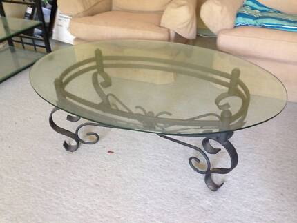 FREE glass topped coffee table