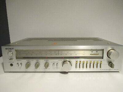 Vintage Sony STR - V15 2-channel receiver - phono preamp tuner Tested & Working