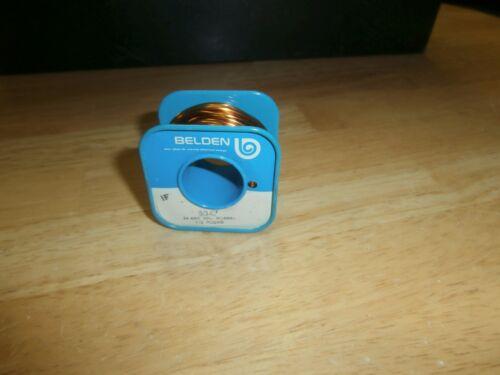 Belden 8047-1/2 Lb #!4 Enameled Magnet Wire,NOS