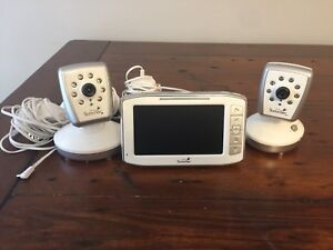 Summer Infant side by side video baby monitor 2 cameras