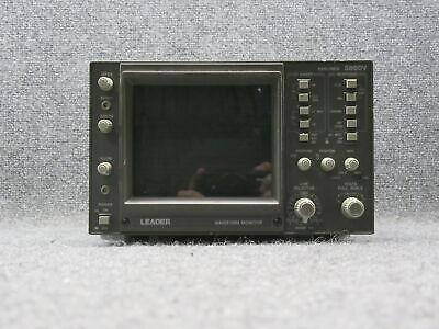 Leader 5860v 525 Lines Waveform Monitor Tested Working