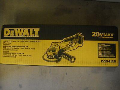 Dewalt DCG412B 20V 4-1/2