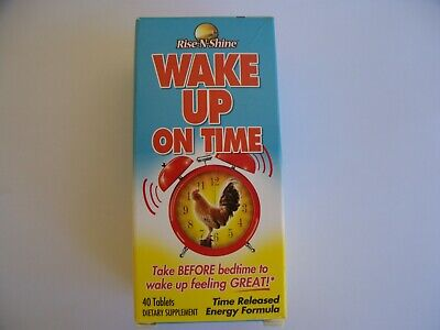 Wake Up On Time Best Selling Alarm Clock in a Pill Supplement by