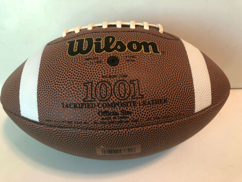 Wilson 1001 Tackified Composite Leather NCAA Football Official Size