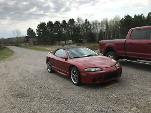 1998 Mitsubishi Eclipse Spyder GS Convertible