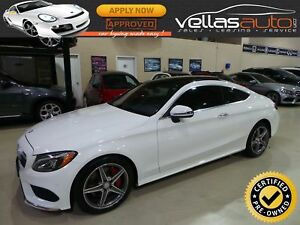 2017 Mercedes-Benz C-Class C300  COUPE  4MATIC  AMG SPORT