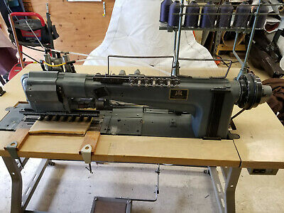 Industrial Sewing Machine Specialized Sewn Channels To Foamadjustable