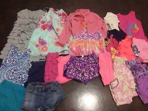 Girls 8 summer lot gap, justice tcp old navy