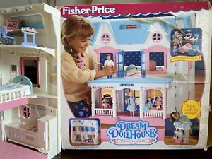 Fisher Price Dream Doll House (includes all accessories)