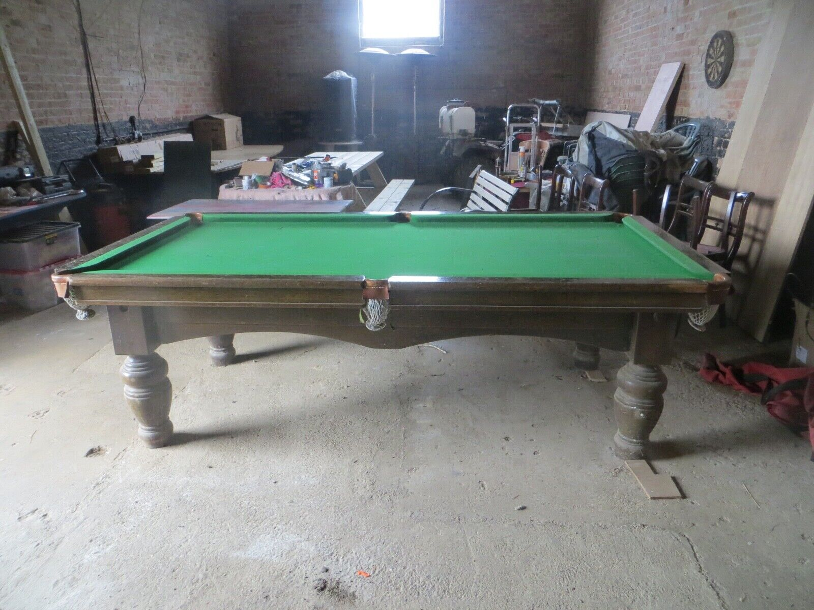 8ft Restored Snooker Table with Free Professional Deliver and Installation