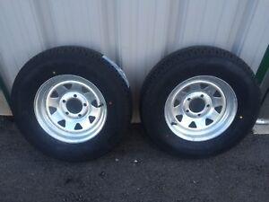 New Galvanized 175/80/R13 Trailer tires