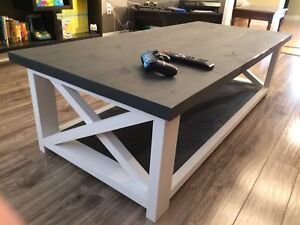 Custom Made Farmhouse Style Coffee and End Tables
