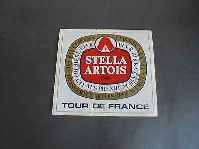 Sticker autocollant : Tour de France - Stella Artois