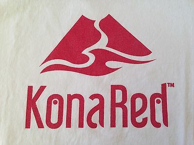Vintage Kona Red T Shirt Large