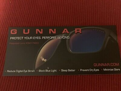 GUNNAR Computer Gaming Glasses VERTEX 54 16-135 Onyx Black w/ Amber (Glass Computers)